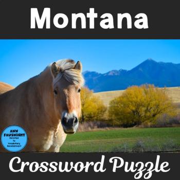 Montana Crossword Puzzle