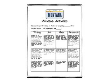 Montana Differentiated State Activities