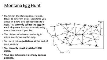 Montana Easter Math Activity