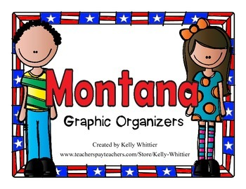 Montana Graphic Organizers (Perfect for KWL charts and geography!)