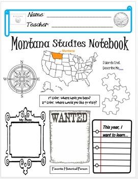 Montana Notebook Cover