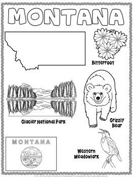 Montana Word Search