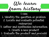 "Montana Social Studies ""I Can"" Statements"