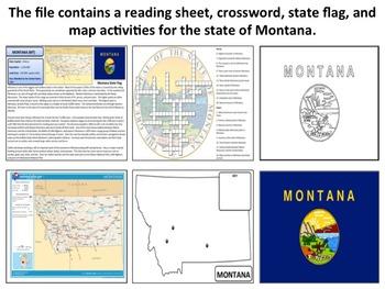 Montana - State Activity Set