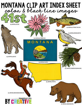 Montana State Clip Art
