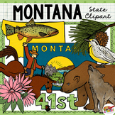 Montana State Clip Art