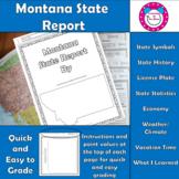 Montana State Report
