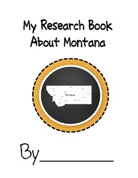 Montana State Research Book