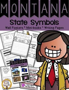 Montana State Symbols Notebook