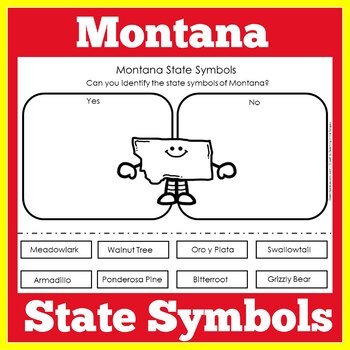Montana State Symbols Worksheet