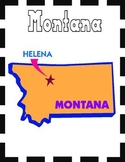 Montana State Symbols and Research Packet