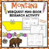 Montana Webquest Common Core Research Activity Mini Book Worksheets