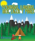 Montañas, Llanuras, Rios, Lagos y Mares para Niños