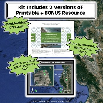 Monterey Bay STEM Discovery Cards Kit