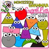 Montessori Grammar SugahPies | KGJ Clipart