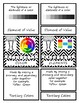 Vocabulary BUNDLE -Elements & Principles of Art w/ Color Theory Montessori Cards