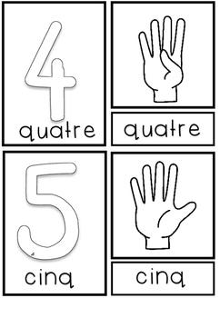 Montessori 3-Part Cards en français