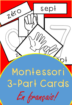 Montessori 3-Part Cards en français
