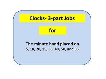 3-part cards  (clocks in 5 minute increments)