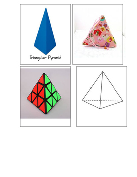 Montessori 3D Shape Sorting
