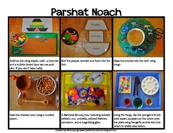 Montessori Activities for Chumash Bereishit