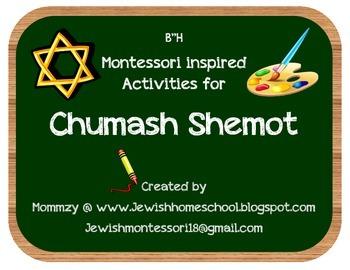 Montessori Activities for Chumash Shemot