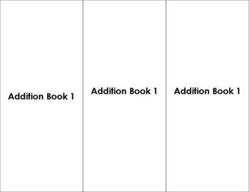 Montessori Addition Book 1