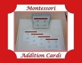 Montessori Addition Cards
