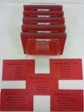 Montessori Addition Snake Game cards