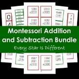 Montessori Addition and Subtraction Bundle