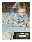 Montessori Adjective Lessons