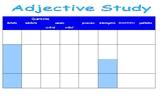 Montessori Adjective Study Chart