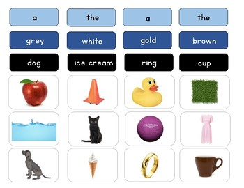 Montessori Adjectives Work