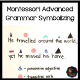 Montessori Advanced Grammar Symbolizing