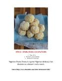 Montessori Africa Shuku Shuku Pre-K Elementary Cooking Visual Recipe Reggio
