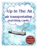 Montessori - Air Transportation Matching Cards