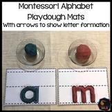 Montessori Alphabet Playdough Mats