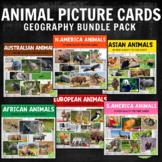 Montessori Animals Around the World Picture Cards