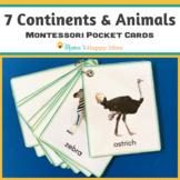 Montessori Animals and Continents