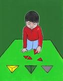 Montessori Art- Constructive Triangles