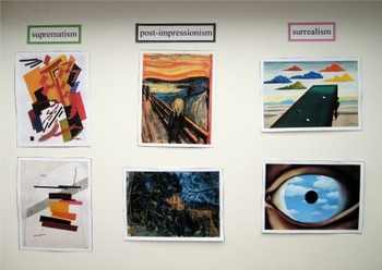 Art Movements Matching Cards