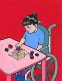 Montessori Art- The Binomial Cube