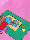 Montessori Art- The World Map