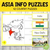 Montessori Asia Country Facts Puzzles