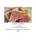 Montessori Australia Fairy Bread Pre-K Elementary Cooking Visual Recipe Reggio