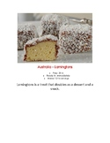 Montessori Australia Lamingtons Pre-K Elementary Cooking Visual Recipe Reggio