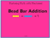 Montessori Bead Bar Addition Book