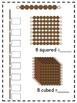 Montessori Bead Book & Notation Paper