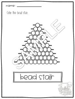 Montessori Bead Stair