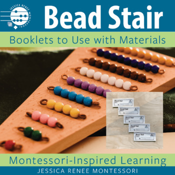Montessori Colored Bead Stair Booklets (Easy Assembly)